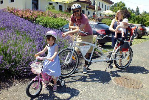 kerékpárkölcsönzés Tihany